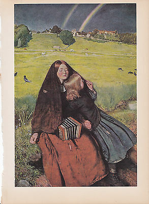 """1939 Vintage /""""THE VISITATION/"""" by ALBERTINELLI Color Art Plate Lithograph"""
