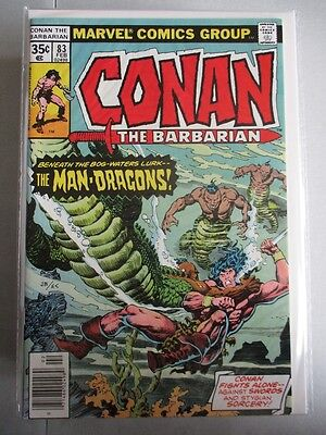 Conan the Barbarian (1970-1993) #83 VF/NM