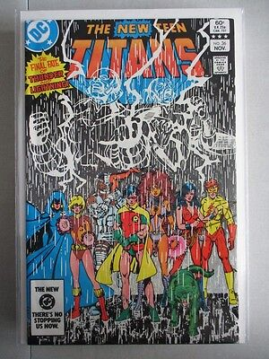 New Teen Titans (1980-1984) #36 NM-