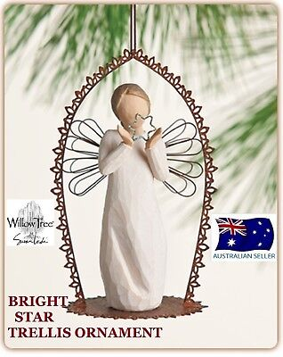 BRIGHT STAR TRELLIS ORNAMENT Demdaco Willow Tree Figurine By Susan Lordi NEW