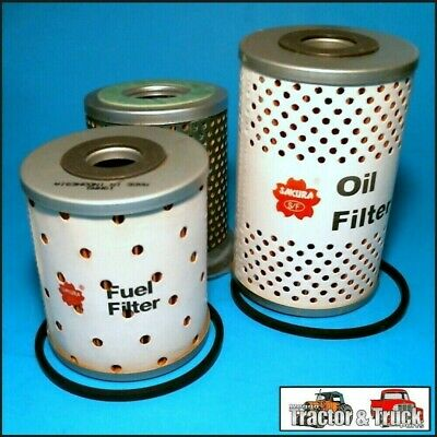 FLK3503-E Oil Fuel Filter Kit Fordson Power-Major Super-Major Tractor 1958 on
