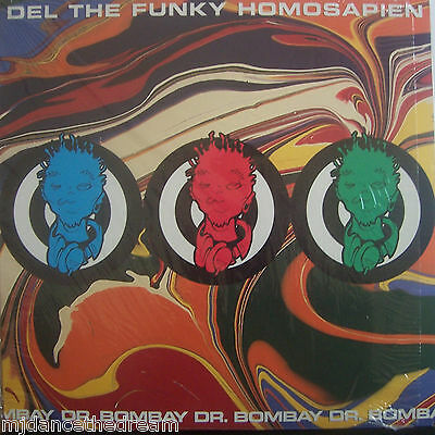 "DEL THE FUNKY HOMOSAPIEN ~ Dr Bombay ~ 12"" Single PS USA PRESS"