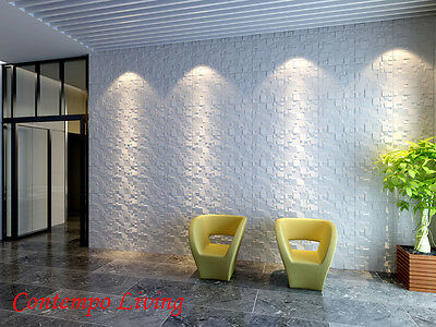 Ice Design 3D Glue on Wall Panel Plant Fiber Material 1 Box of 32 sqft
