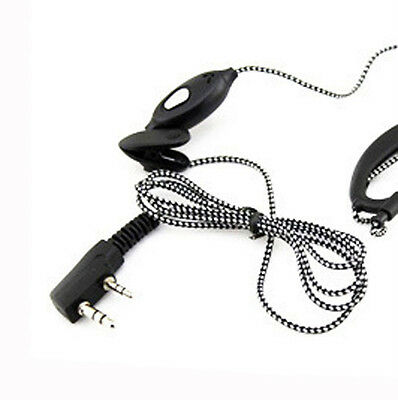 2PIN High Quality Earpiece Headset Mic For Radio Security Walkie Talkie Feature