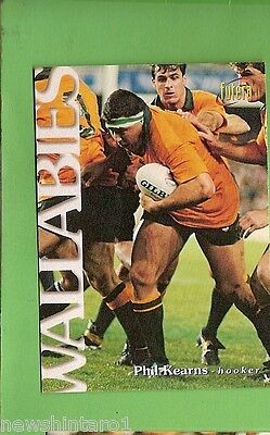 1996 Rugby Union  Card #16 Phil Kearns, Wallabies