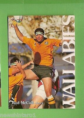 1996 RUGBY UNION  CARD #19 ROD McCALL, WALLABIES