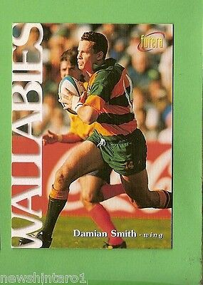 1996 Rugby Union  Card #25 Damian Smith, Wallabies