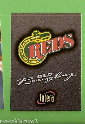1996 Rugby Union  Card #30 Logo Card, Reds