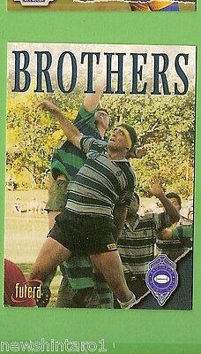 1996 Rugby Union  Card #74 Club Card, Brothers
