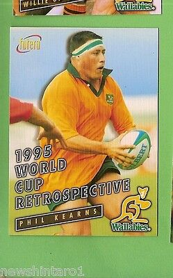 1996 Rugby Union  Card #92 Phil Kearns, Wallabies