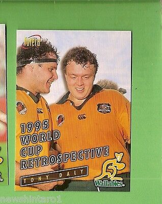 1996 Rugby Union  Card #93 Tony Daly, Wallabies