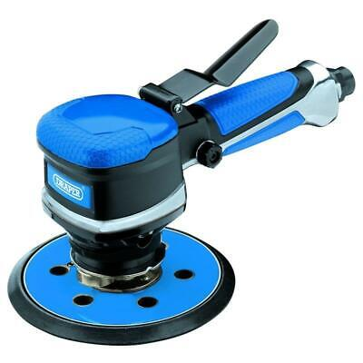 "Draper 150mm 6"" Variable Speed Random Orbital Dual Action DA Air Sander, 65084"