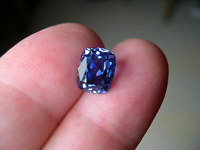 SUPERBE TANZANITE VERNEUIL COUSSIN 6x8mm...IF