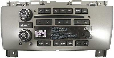 Buick Lacrosse CD6 radio button & knob set. New OEM 6CD CD 6 stereo parts,