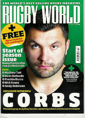 RUGBY WORLD MAGAZINE October 2013