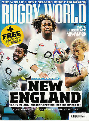 RUGBY WORLD MAGAZINE January 2014