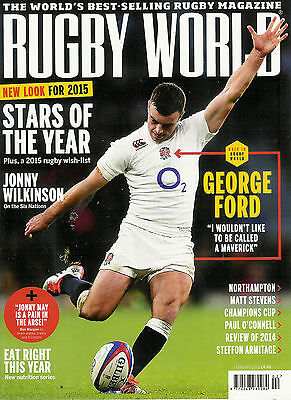 RUGBY WORLD MAGAZINE February 2015