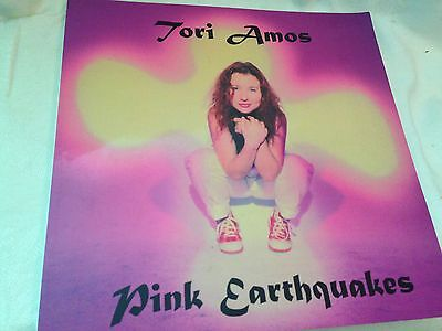 Tori Amos Pink Earthquakes Book of Photo's More