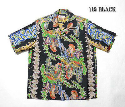 LIMITED EDITION 2015 Reproduction Rayon Hawaiian Aloha Shirt by Sun Surf Japan
