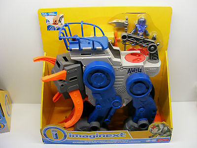 Fisher Price Imaginext space ALPHA WALKER vehicle playset new, 2014