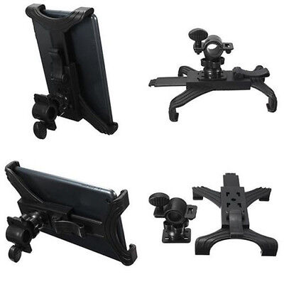 """Universal Bike Bicycle Microphone Stand Holder Mount For 7""""-11"""" Tablet iPad"""