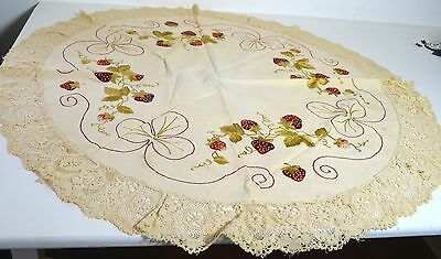 Beautiful Vintage Arts And Crafts Table Round Pp956