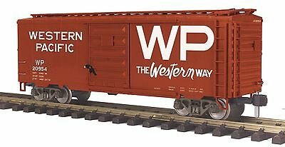 MTH 70-74088, One Gauge, 40' Box Car - Western Pacific - Car #20954