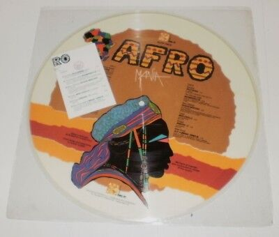 Afro Mania - Raro Picture Disc Lp Italy  Dig It Records 1991 W/info Tracklist Nm