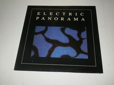 "ELECTRIC PANORAMA - Electric Panorama - 12"" RED VINYL  BOL RECORDS - EBM SYNTH"