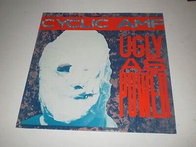 CYCLIC AMP - Ugly As Power - LP 1987 PROBE PLUS - MADE IN UK - NM/EX- GRUNGE -