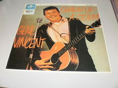 Gene Vincent - Shakin' Up A Storm - Lp Emi Records - 1984 Made In France - Mono