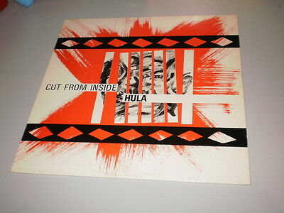 Hula - Cut From Inside - Red Rhino Records - Lp - 1983 - Made In Uk - Industrial
