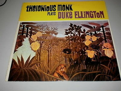 Thelonius Monk - Thelonius Monk Play Duke Ellington - Made In U.s.a. - Lp - 1984