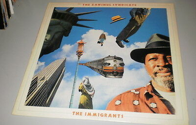 The Zawinul Syndacate - The Immigrants - Lp 1989 - Cbs Records - Made In U.s.a.