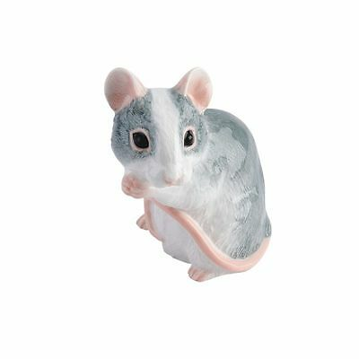 John Beswick Mouse (Grey & White) RSPCA Adorables Figurine 24694
