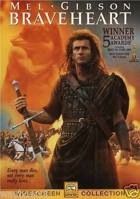 Dvd--Mel Gibson: Braveheart [W/s--Dolby] Winner Of 5 Academy Awards