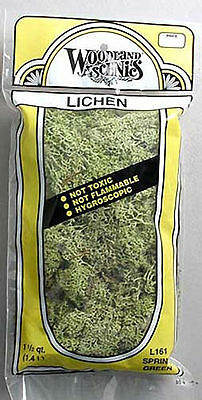 Woodland Scenics L161 N/HO Lichen Spring Green 1.5 Quarts Train Scenery