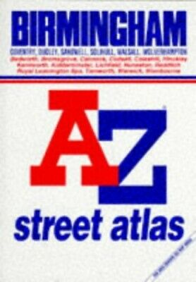A. to Z. Atlas of Birmingham and West Midla... by Geographers' A-Z Map Paperback