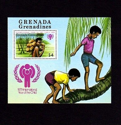Grenada Gr - 1979 - Iyc - Year Of The Child - Coconuts - Mint - Mnh S/sheet!