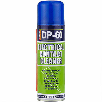10, 250ml Electrical Contact Cleaner Switch Clean Aerosol Spray Can Dirt Remover
