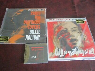 Billie Holiday Audiophile 45 Rpm Verve Series Soul Distingue Nothing + Mfsl Cd