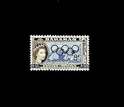 Bahamas - 1964 - Yacht Race - Olympics - Ovpt - Mint - Mnh - Single!