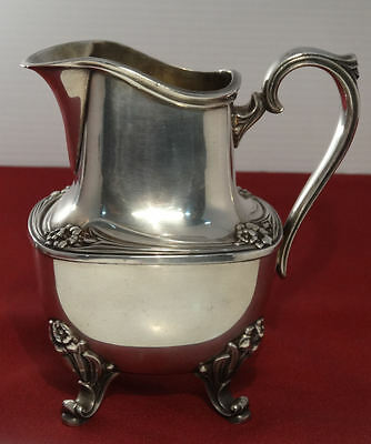 1847 Rogers Bros DAFFODIL International Silver Plate Creamer Pitcher for Tea Set