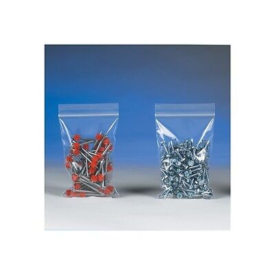 """500 Reclosable Reusable Ziplock Jewelry Plastic Clear Poly Bags 12x20, PB3791"""
