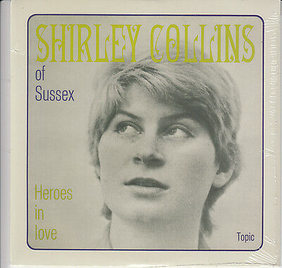 "SHIRLEY COLLINS Heroes In Love 2014 UK limited vinyl 7"" SEALED/NEW"