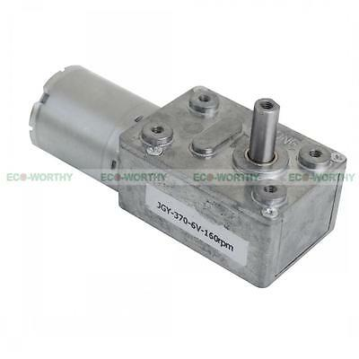Geared Motor 6V 12V 24V High Torque Turbo Worm Gearbox Motor JGY370 Metal Gear