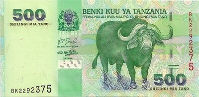 TANZANIA 2003 ND 500 SHILLING in a Protective Sleeve