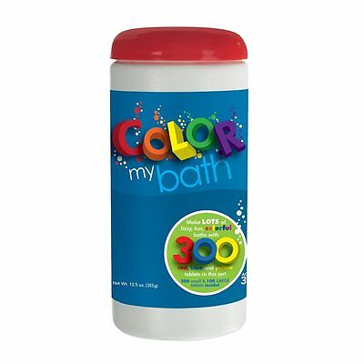 300 Piece Kids Children Water Color Changing Fizzy Bath Tablets