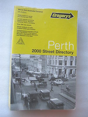 Gregory's Perth 2000 Street Directory.