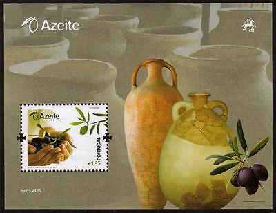 Portugal Mnh 2008 Ms3624 Olive Oil Production Minisheet